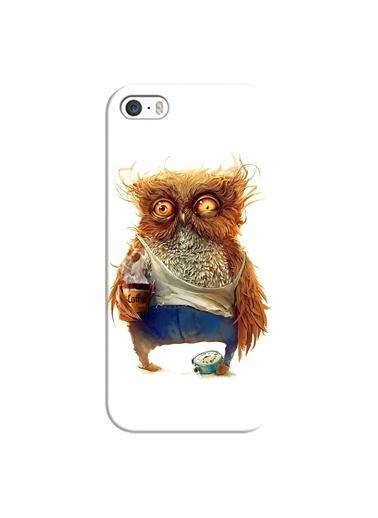 People's Cover iPhone 5/5S/5SE Kabartmalı Telefon Kılıfı Renkli
